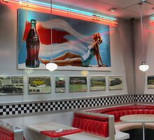 Hungry Jacks in Neon ( 3 ) by Larry Lingard-Davis