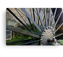 Old Mill Wheel 1 Canvas Print