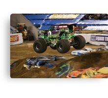 Monster Jam - Grave Digger 2010 Canvas Print