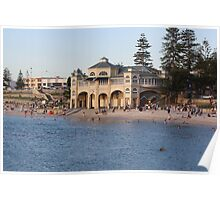 Indianna Tea Rooms  - Cottesloe Beach Poster