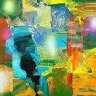 """""""Pastel Encryption"""" Print by jaartist29"""