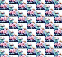 Elegant Living with Powder Pink Roses by Greta Corens