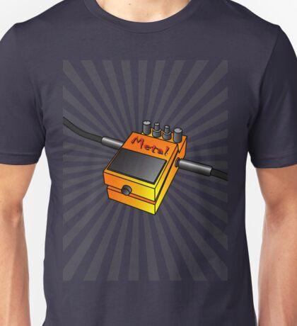 Metal Stompbox Unisex T-Shirt
