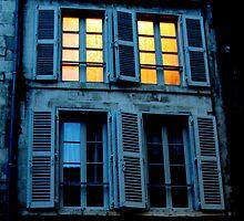 What light through yonder window breaks? by Christine Oakley