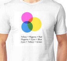 Process colours Unisex T-Shirt