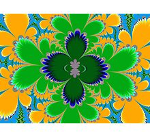 Tropical Fractal Photographic Print