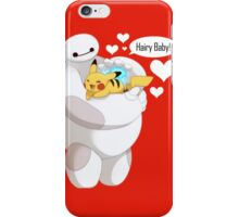 Baymax And Pokemon Hairy Baby Love iPhone Case/Skin