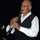 The Clarinet Player by Bev Pascoe