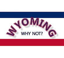 Wyoming Why Not? by PharrisArt