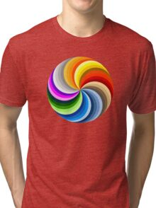 Colorful Circles Tri-blend T-Shirt