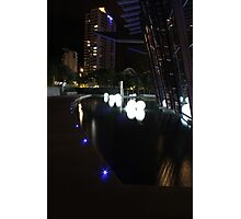 Q1 Night Time Reflections Photographic Print