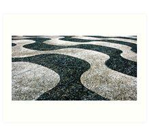 Gravel swirl Art Print
