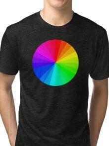 Rainbow Circle Tri-blend T-Shirt