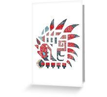 Rathalos - Monster Hunter Greeting Card