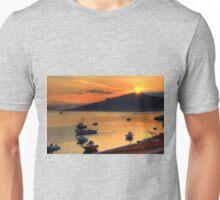 Sunrise over Nissaki Unisex T-Shirt