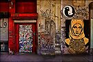 West Village Wall, New York City by Chris Lord