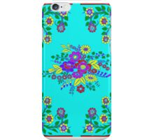 Smart Tech, Fashion, Home Accessories in Turquoise Foulard Print iPhone Case/Skin
