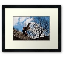 Parkour Framed Print