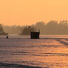 ICE FISHING  by Marie  Morrison