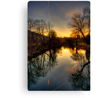 SATURDAY AFTERNOON  Canvas Print