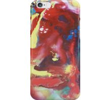 abstract acrylic painting iPhone Case/Skin