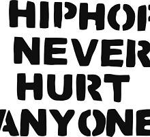 HIPHOP never hurt anyone by hophop