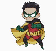 DC Comics || Damian Wayne/Robin by Mia ♡ Restrepo