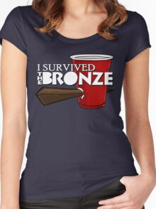 I Survived the Bronze Women's Fitted Scoop T-Shirt