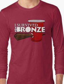 I Survived the Bronze Long Sleeve T-Shirt