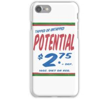 Untapped Potential Supermarket Series iPhone Case/Skin