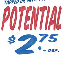 Untapped Potential Supermarket Series by Edward Fielding