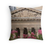 Stone work Throw Pillow