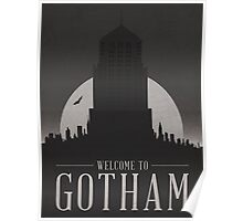 Batman - Welcome To Gotham City Poster