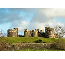 Caerphilly Castle  Photographic Print