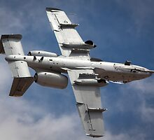 A-10 bottoms up! by Chris Heising