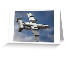 A-10 bottoms up! Greeting Card