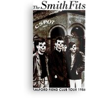 CSPOT - The SmithFits - Salford Fiend Club Tour Metal Print