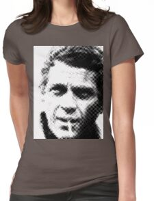 Steve McQueen Womens Fitted T-Shirt