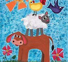 Sunny Day on the Farm by Kayleigh Walmsley
