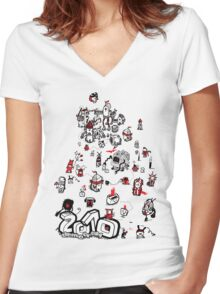 Twenty When?! Women's Fitted V-Neck T-Shirt