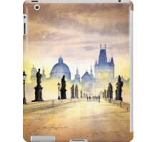 Charles Bridge Prague - Evening Strollers iPad Case/Skin