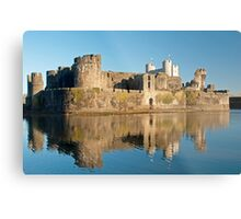 Caerphilly Castle Metal Print