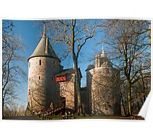 Castell Coch Cardiff Poster