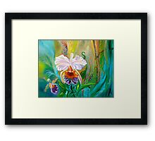 Jungle Orchid Framed Print