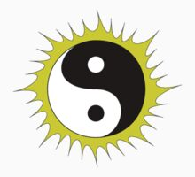 Yin Yang Design in front of the Sun by Mindful-Designs