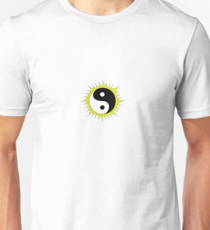 Yin Yang Design in front of the Sun Unisex T-Shirt