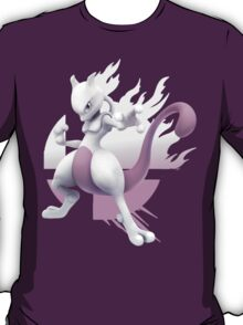 Mewtwo Super Smash Bros 3ds/wii u T-Shirt