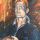 Shaun Portrait 2 by scallyart