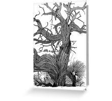 Desert Timber Greeting Card