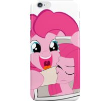 Pinkie rips past iPhone Case/Skin